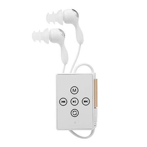 Festnight Wasserdichter MP3-Player, Unterwasser-IPX8-Schwimmen-MP3-Player 8 GB-Musik-Player mit Clip zum Schwimmen Laufen Tauchen