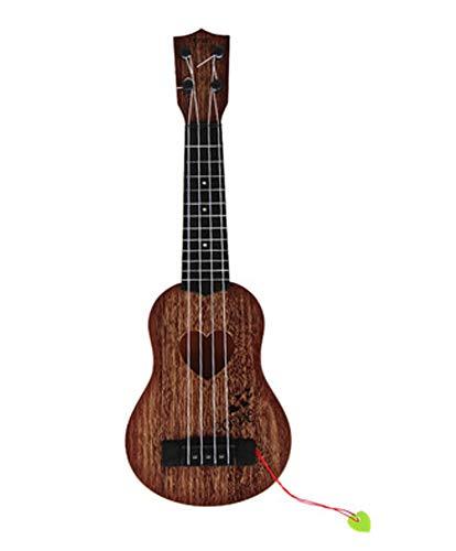 East Utopia Gitarre für Kleinkind Kinder Anfänger Spielzeug Gitarre Instrument Spielzeug