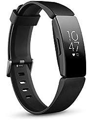 Fitbit Inspire HR, Tracker per Fitness e Benessere, Nero