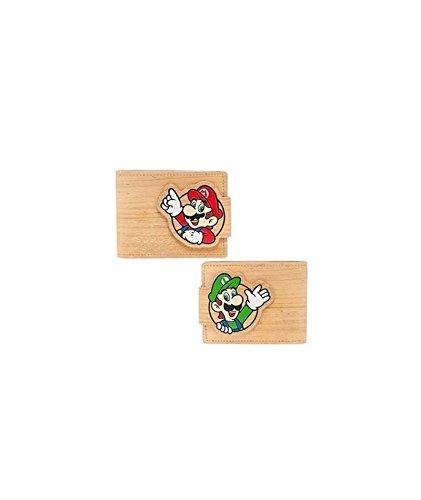 Woodgrain (Nintendo Geldbörse Mario/Luigi Woodgrain)