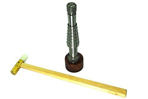 Hammer Juwelier (Proops Ring Bilder und Fiber Hammer Messing. Streckende, Juwelier Werkzeuge. School UK)