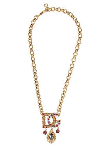 DOLCE E GABBANA Damen Wnl6b3w1111zoo00 Gold Metall Hallskette