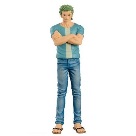 Preisvergleich Produktbild Banpresto One Piece figure Roronoa Zorro ~JEANS FREAK 06 Blue ver figuren~