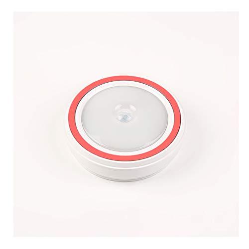 LED Nachtlicht Menschlichen Körper Infrarot Sensor Nachtlicht Lichtsteuerung Kleidung Küchenschrank Licht Beleuchtung Batterie (Farbe : C) - Körper C Kleidung