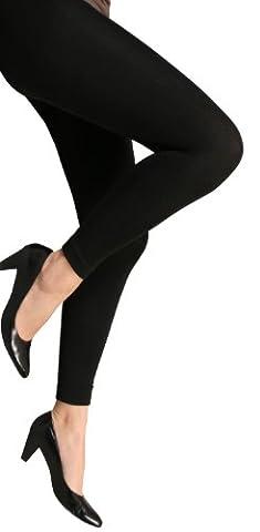 VCA - Lot de 2 leggings confort Thermo pour femme - intérieur polaire - noir taille M/L 40/42