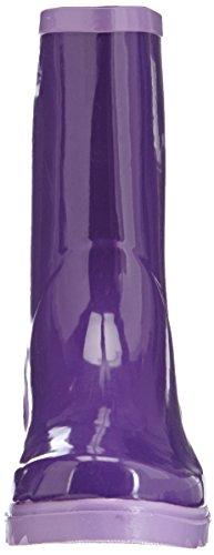 Playshoes Wellies Short Ankle Wellington Boots, Bottes de Neige femme Violet - Purple - Violett (lila/flieder 797)