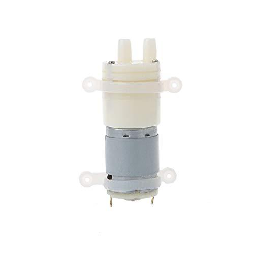 LAOSI Mini Pumpe Grundierung Membran Spray Motor Micro Pumpen 12V für Wasserspender (Wanne Motor)