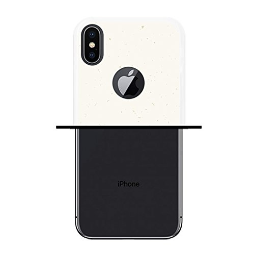 iPhone X Hülle, WoowCase Handyhülle Silikon für [ iPhone X ] Motivierungssatz - Impossible Handytasche Handy Cover Case Schutzhülle Flexible TPU - Transparent Housse Gel iPhone X Transparent D0215