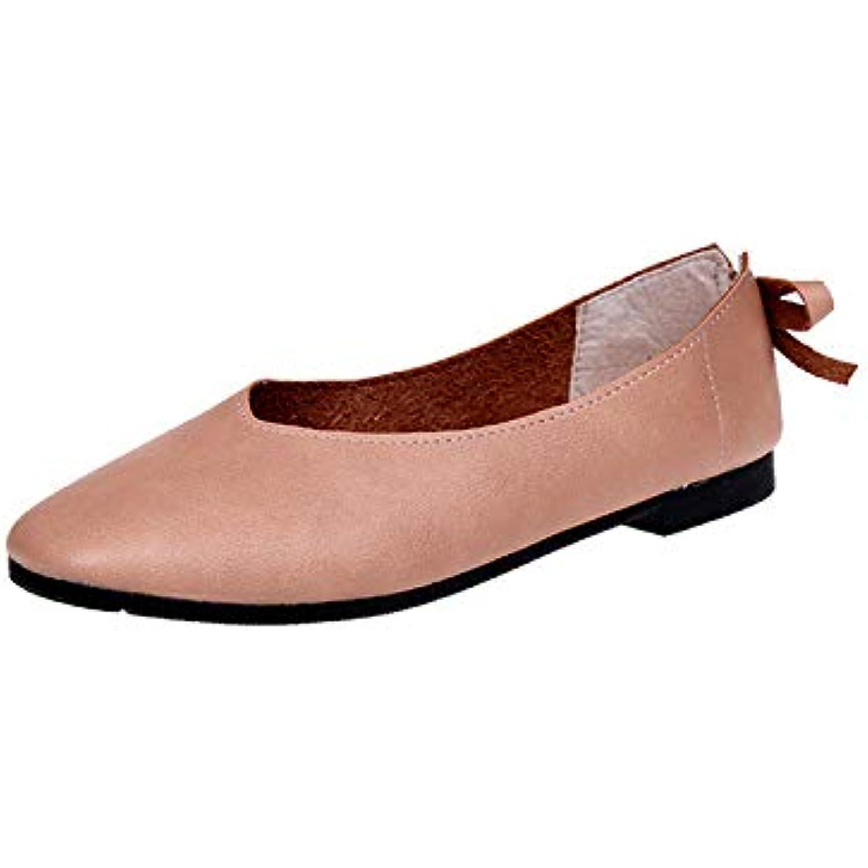 ZHRUI Ballerines pour Femmes Comfort Comfort Comfort Butterfly Knot Soft Mocassins (coloré : Marron, Taille : EU 40) - B07HHQH2BC - 565ca5