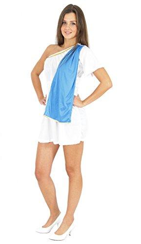 Kostüm Rom Von - Foxxeo Sexy antikes Kostüm Römerin Kleid Antike Antik Römer Rom Griechin Griechinkostüm Damenkostüm Damen Tora Gewand Gr. S - M Größe S