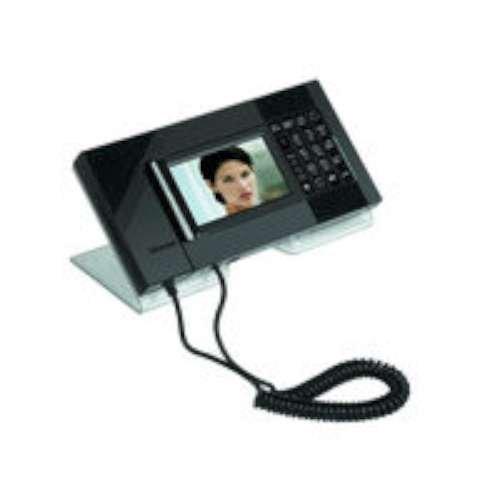 BTICINO PORTEROS 345021 - TELEFONO TACTIL IRYDE NEGRO