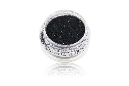Glitterpuder / Glitzerpuder / Glitterstaub / Glitterpulver / Glitzerpulver - Farbe Schwarz 5 gr. (Machen Farbe Mischen Karte)