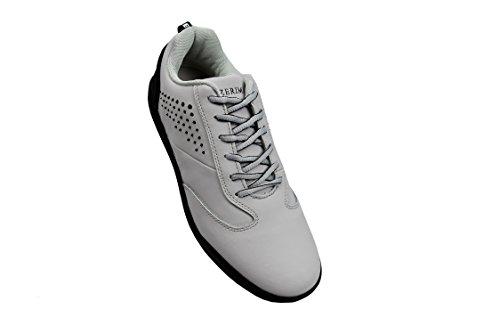 Zerimar Scarpe da Golf Fabbricati in Pelle Bovina Sport e Confortevole  Casual Running gris claro ... 7db2aa9e940