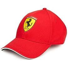 Ferrari – Gorra infantil en rojo Sebastian Vettel 20b4df95cac