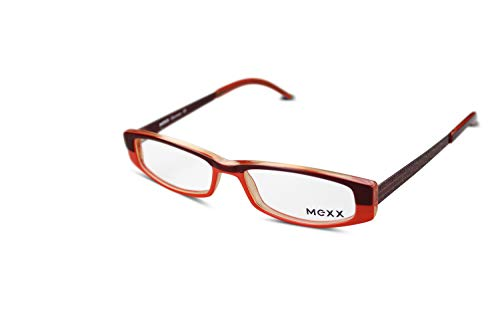 MEXX Damen Brille Modell 5336 col.516 Gr.48-14 Braun, Rot, Orange