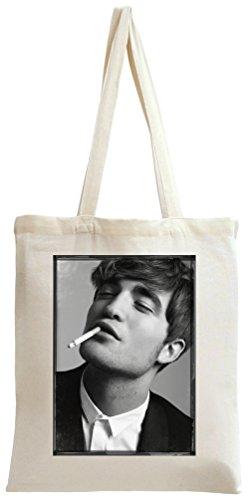 Robert Pattinson Smoking Tote Bag -