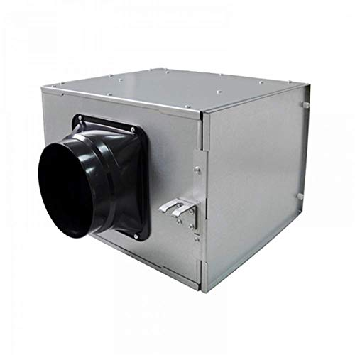 Preisvergleich Produktbild ZQYR Extractor Fans@ 100mm Abluftventilator Hochleistungs Inline Rohrventilator Mischstrom Lüftungsanlage Abluft für Zimmer Badezimmer Küche,  Luftvolumen: 200 m³ / h