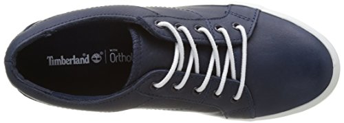 Timberland Flannery Oxfordblack Iris Escape, Sneakers Basses Femme Bleu (Black Iris Escape)
