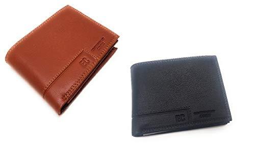 0a1104719e Nandy Portafoglio, Portafoglio da Uomo di Cuoio RFID Portamonete  Ultrasottile Anti Magnete Portafoglio con Porta Carta di Credito con  Confezione Regalo, ...