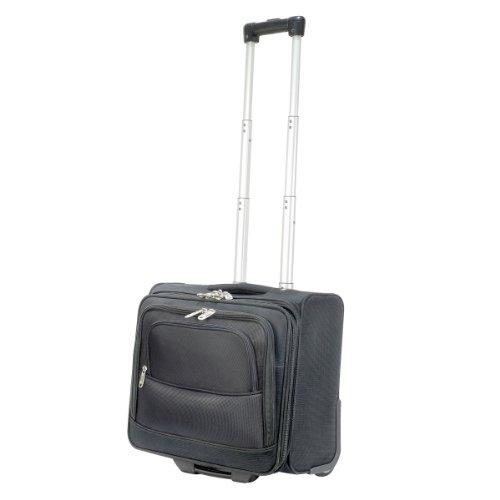 Shugon Roma - Sac de voyage à roulettes cabine (30 litres) (Taille unique) (Noir) 9epQg