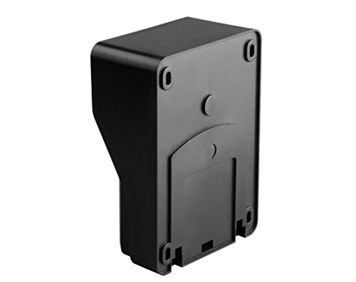 "Amocam 1-Waterproof Camera 2-TFT Monitors 7"" Video Intercom Visual Doorbell Kits Door Phone System IR Night Vision 2-way Hands Free intercom for Home Office"