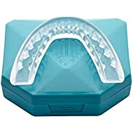 Pack of 2 - Professional Night Mouth Guard Dental Retainer Grind Protector Mouthpiece Sleep Bite Splint Stop Teeth Grinding TMJ Tray Bruxism Clenching Gum Shield