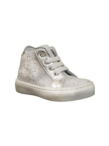 Pretti Shoe Scarpa Alta Primi Passi con Lacci Grigio, 20