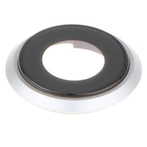 MagiDeal Rückkamera Glaslinse Set Ersatz Handy Hinten Kameralinse Abdeckung mit Objektiv Rahmen für Apple iPhone 8 - Weiß