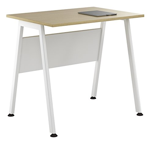 Kit Out My Office UCLIC A Frame Desk, Metal, Natural Oak, 800 mm