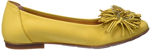 Sabrinas Damen Versalles Geschlossene Ballerinas Gelb (Yellow)