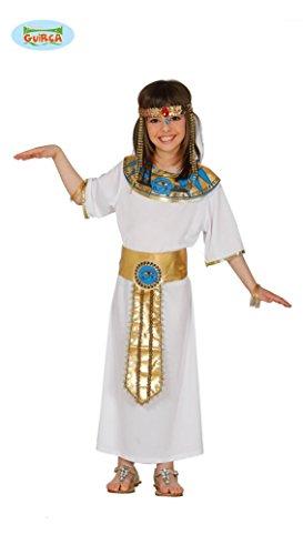 KINDERKOSTÜM - ÄGYPTERIN - Größe 122-132 cm ( 7-9 Jahre ), Antike antikes Alexandria Pyramiden Pharaonin Nofretete Cleopatra Königin Ägypten