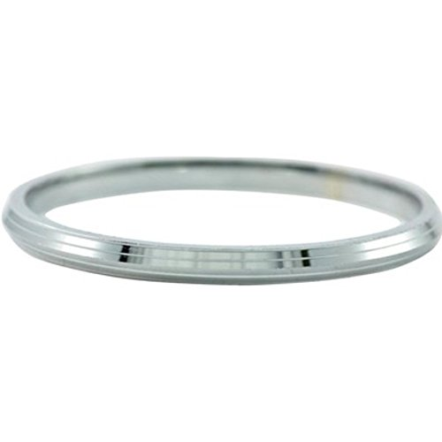 Stainless Steel bracelet Kada for Men 1/2 cm thick (Internal diameter: 6.6)