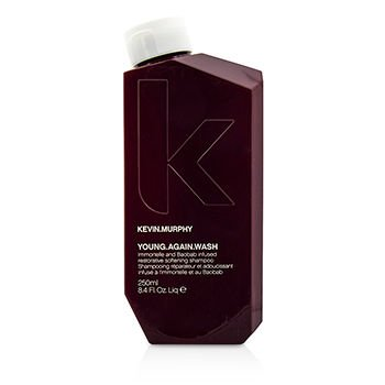 Kevin.Murphy - Young.Again.Wash (Immortelle and Baobab Infused Restorative Softening Shampoo - To Dry Brittle Hair) 250ml/8.4oz
