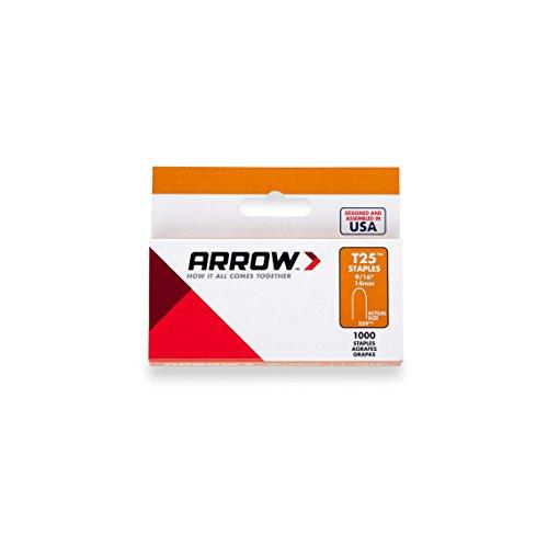 Arrow 160844 T25 Boîte de 1000 agrafes 14 mm pour câble ø 6 mm