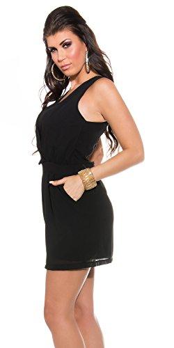 In-Stylefashion - Robe - Femme noir noir M/L Noir