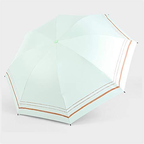 Regenschirm Faltbarer Vinyl-Sonnenschutz UV-Schutz Lady Folding Sun Ultra Light Mini mit doppeltem Verwendungszweck Sunny Camouflage Womens Hut