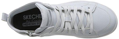 Skechers Damen Omne-Midtown Hohe Sneakers Weiß (Wht)