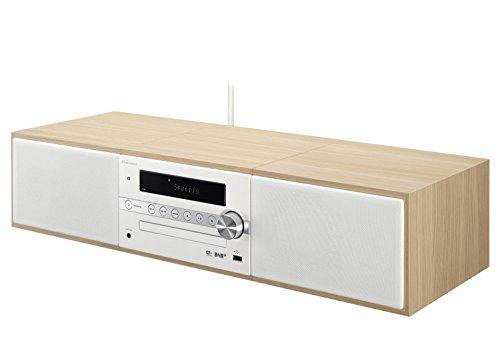 Pioneer X-CM66D(W) HiFi-Microsystem (CD, DAB, FM, TuneIn-Internetradio, Spotify Connect, Wifi und Bluetooth) Weiß