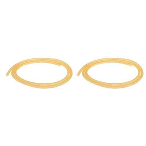 Homyl 2X Gummischlauch-Gummiband elastisches Gummiband Elastische Tube Schlauch Rohr