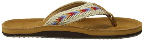 Fat Face Somerton Suede, Tongs Femme Brown (Tan Brn)