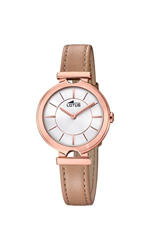 Lotus Watches Womens Analogue Classic Quartz Watch with Leather Strap 18453/1