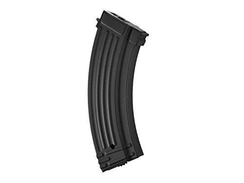 Battleaxe Airsoft / Softair AK 47 (S)AEG Metall HighCap Magazin (600 BBs) -schwarz-