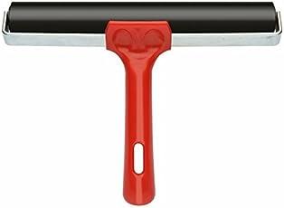 """KABEER ART® Lino Rubber Roller Ink Roller Brayer 8"""""""