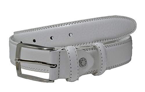 GreSel Cintura Uomo e Donna Vera Pelle Accorciabile Altezza 35