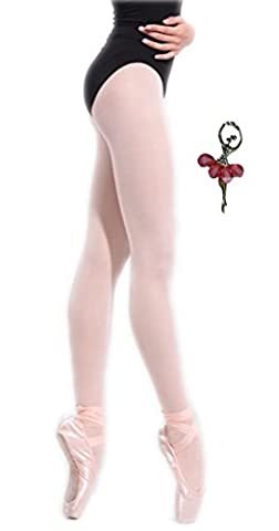 Ballett strumpfhose mädchen ohne NahtTurnanzug Unterwäsche Strümpfe Slips Dance For Girls Women Briefs Dancing Panties Leggings Stocking Tights Underwear Beige S 3 4 5 Jahre