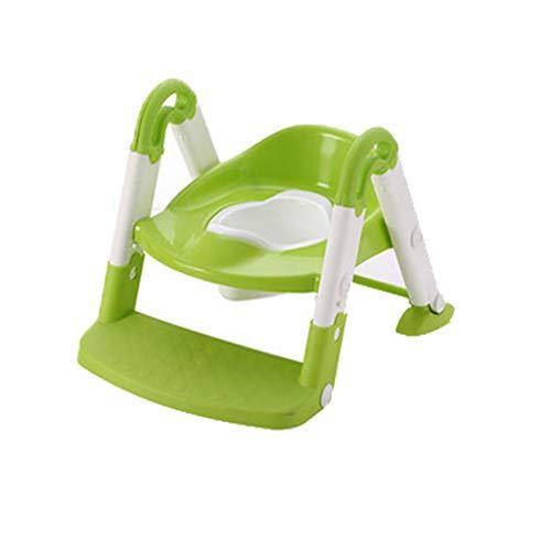 BTPDIAN Toiletten-Leiter-Toilettenbaby-Töpfchenbaby des Kleinkindes Kleiner Toilettensitzkind-Toilettenkind-Urintopf der Kinder Kinder-WC-Sitz (Farbe : A)