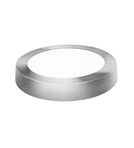 Davled Plano Downlight LED superficie aluminio plata