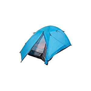 mountain warehouse festival dome 2 man camping tent - porch area, groundsheet, water resistant backpacking tent, lightweight, easy pitch festival tent - for summer