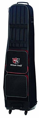 Wilson Staff Herren Accessoires W/S Folded Wheel Cover, Schwarz, 40 x 30 x 120 cm, 1 Liter, WGB4201BL