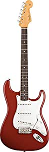 FENDER ERIC JOHNSON STRATOCASTER TOUCHE PALISSANDRE DAKOTA RED Guitare électrique Stratocaster